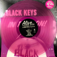 BLACK KEYS  -THE BIG COME UP -2011 PRESSING, RARE FUSCHIA VINYL WITH POSTER INSERT  LP