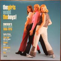 GIRLS WANT THE BOYS! SWEDEN'S BEAT GIRLS 1966-1970 - 180-GRAM / WHITE VINYL-  COMP LP