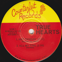 TRUE HEARTS (FORMER JUST BOYS)  NOT TONIGHT (4 SONG EP -1980 ORIGINAL PRESSING)  33 RPM