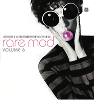 RARE MOD, VOL. 6  (RARE 60s tunes)  COMP CD