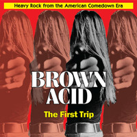 BROWN ACID  - THE FIRST TRIP (60S PSYCH RARITIES) YELLOW VINYL? COMP LP