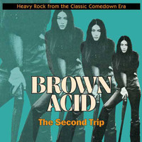 BROWN ACID  - THE SECOND TRIP (60S PSYCH RARITIES)Orange? COMP LP