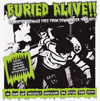 BURIED ALIVE  -6 CD BOX SET -DEMENTED TEENAGE FUZZ FROM DOWN UNDER 1965-1970-  COMP CD
