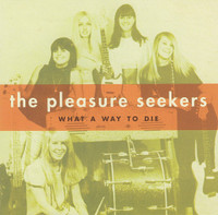 PLEASURE SEEKERS  - What a Way To Die w the Quatro Sisters (1965 ) 45 RPM