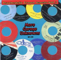 PSYCHEDELIC CROWN JEWELS  -VOL 3 (previously unrel. obscure 60s garage with 10 page booklet)   COMP CD