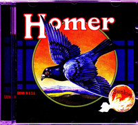HOMER   - ST (70s Texas psych hard rock)  CD