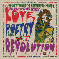 LOVE, POETRY AND REVOLUTION (3CD) A JOURNEY TO THE BRITISH PSYCHEDELIC AND UNDERGROUND SCENES 1966 TO 1972