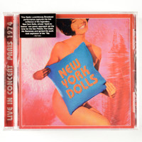 NEW YORK DOLLS -LIVE IN CONCERT PARIS 1974-  CD