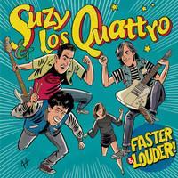 SUZY & LOS QUATTRO  -Faster & Louder! CD