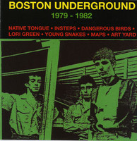 BOSTON UNDERGROUND   VA  79 -82  Includes a 4-page booklet, lots of nice photos! COMP CD