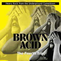 BROWN ACID  - THE FOURTH TRIP (60S PSYCH RARITIES)  PURPLE? COMP LP