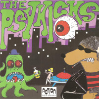 PSYKICKS- Beware the Psykicks (STooges MC5 70s punk style) 45 RPM