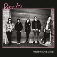 PRONTO  - WHEN YOU'RE GONE (punky power pop NERVES STYLE)CD