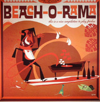 BEACH-O-RAMA -VOL.1(boogaloo, twist, rock'n'roll & surf songs)PLUS CD!  COMP LP
