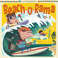 BEACH-O-RAMA VOL.2(+CD) VA  COMP LP