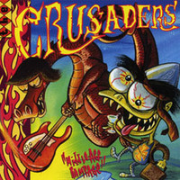 "CRUSADERS  -Middle Age Rampage (GARAGE PUNK) 10""  LP"