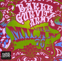 BAKER GURVITZ ARMY -Live In Milan Italy 1976 -  CD