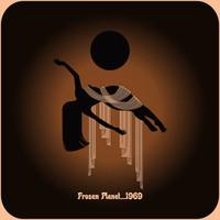 FROZEN PLANET -1969 FROM THE CENTRE OF A PARALLEL UNIVERSE(Australian psych-/jam-rockers) SPLATTER   LP