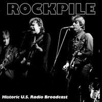 ROCKPILE   - LIVE (Brit 70s power pop)   CD