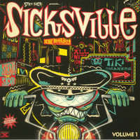 "SICKSVILLE  -VOL. 1 (tittyshakers to whip, whop, wobble and grind to) 10""-  COMP LP"