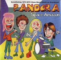 PANDORA- Space Amazon (1970s glam proto punk)CD