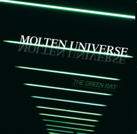 MOLTEN UNIVERSE - THE GREEN RAY (EX LIME SPIDERS bone jarring garage)  CD