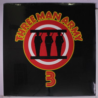 THREE MAN ARMY  -  3 - (must-have for all HARD PSYCH ROCK) unreleased material  nice glossy sleeve -   LP