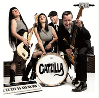 CATZILLA   -ST  (Inspired by the monster B-movies and garage sounds of the 60s)   CD