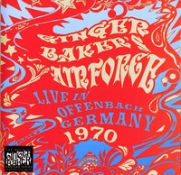 GINGER BAKERS AIRFORCE  -Live in the Stadhalle Offenbach Germany 1970 DOUBLE CD