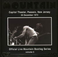 MOUNTAIN   - Live At The Capitol Theater 1973-  CD