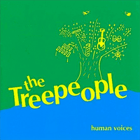 TREE PEOPLE -Human Voices ( late '70s Oregon hippie folk band)  LP