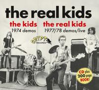 KIDS/REAL KIDS  -1974 DEMOS/1977-78 DEMOS/LIVE - BOOK PLUS CD