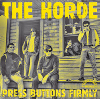 HORDE -Press Button Firmly ( 1967 rare garage )w 4 bonus tracks -  CD