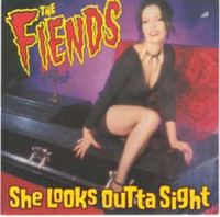 FIENDS -She Looks Outta Sight (4 TRACK CANADIAN GARAGE) 45 RPM