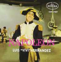 HERNANDEZ, LUIS ''VIVI''  -Napoleon (Great offbeat garage rock from 1960s Mexico) 2 ONLY  MINI LP SLV CD