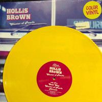 HOLLIS BROWN   -CLUSTER OF PEARLS(MUST HAVE for any music lover, these guys are amazing!)-LEMON VINYL   LP