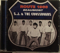 ROUTE 66  ( Texas 60s psych ) with the OUTCASTS CD