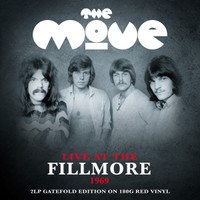 MOVE   - Live at the Fillmore 1969 double LP RED VINYL  gatefold jacket  -  LP