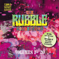 RUBBLE COLLECTION -Volumes 1-20  (317 tracks complete with 2 fully-revised full-color booklets (86 and 96 pages,)updated band histories, rare photos, and full discographies !)COMP CD