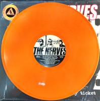 NERVES-One Way Ticket -LAST COPIES! LTD ED of 150 ATOMIC ORANGE VINYL LP