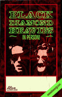 BLACK DIAMOND HEAVIES   - Tour Poster Full color glossy 11x 17 -  POSTERS