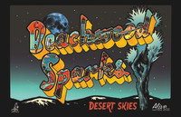 BEACHWOOD SPARKS   - Desert Skies  full color glossy 11x 17 -  POSTERS