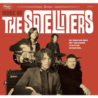 SATELLITERS  -More Of (COLOR VINYL,download, old style stick on board jacket - 60's garage gods) LP