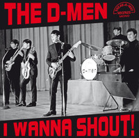 D - MEN - I Wanna Shout (US mid 1960's british invasion influenced Garage) 4 page insert-LP