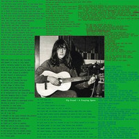 PIP PROUD-A FRAYING SPACE w liners and lyrics (67 outsider Syd Barrett style) LP