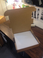 DOUBLE WALLED BOX   - Heavy duty box with corner protection! -