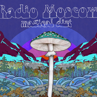 RADIO MOSCOW  -Magical Dirt- LAVENDER vinyl, blue cover . Ltd ed of 150 LP