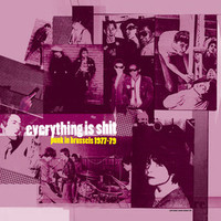 EVERYTHING IS SHIT  - Punk in Brussels 77-79 -  CD
