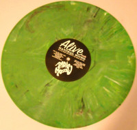 RADIO MOSCOW   -  ST  debut LP -LTD ED OF 100 GREEN MARBLE  vinyl , Prod by Dan of the Black Keys -  LP
