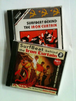 PLANETARY PEBBLES  VOL #1 and #3 BUNDLE!  -SURFBEAT BEHIND THE IRON CURTAIN -2 CDs-  60s rare garage  w rare photos, liners, and prev unissued tracks -  COMP CD